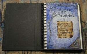 Art journal - 1st page by bodaszilvia