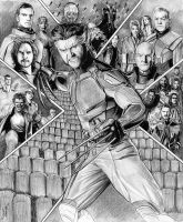 X-Men - Days of Future Past by Robert Blancas by Robert-Blancas