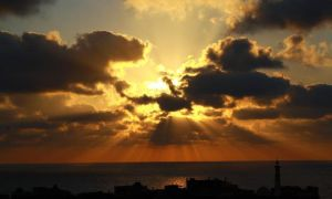 Sky Over Gaza .. by ledo4life