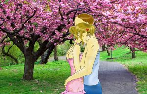 True love blossoms .: Request:. by SailorSun18