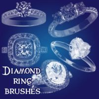 Diamond Ring Brushes by remygraphics