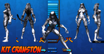 Kit Cranston - Costume Ref 01 by Agent-Foo
