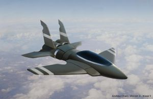Fighter Plane by Vaig
