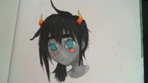 Homestuck Fanart OC 2 With Copics by GothicLotia