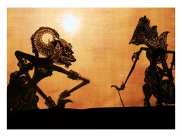 puppet show by indonesia