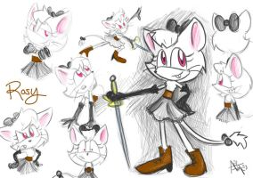 .:CONTEST:. Rosy the Shrew by SonicFF