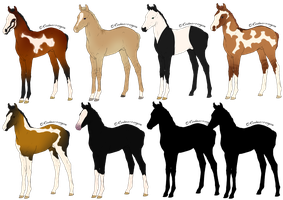 Lineage Foals - OPEN by ssomme