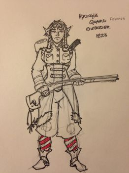Kringle Guard Outrider by Hammerthane