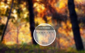 Desktop Calendar Photo Oktober 2013 by Lavinia1988