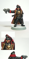 Vostroyan Commissar close ups by Belazikkal