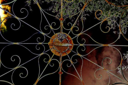 Web of Iron Rusted by psipher