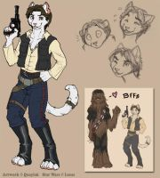 Star Wars - Han Solo Reference by Quaylak