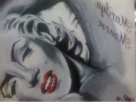 Marilyn Monroe Laying Down 2 by CplSarCia