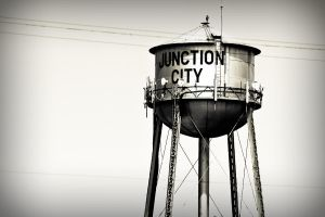 Water Tower by melissaearl