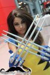 Sexy Female Wolverine at NYCC 2013 by Beyondtheye