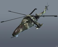 WZ-19 Attack Helicopter by Goreface13