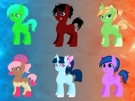 look at all of these cutie babes~ by mekeila13