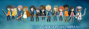 The Percy Jackson Selfies by Sugardapuppy