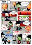 Delusions Comic - Pg 1 by Darqx