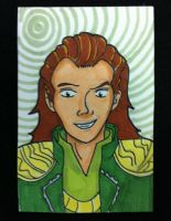 Sketch Card: Loki by KnoppGraphics