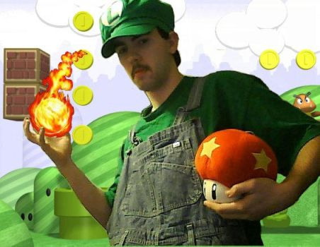 My Luigi Cosplay For Fanexpo by ZombieT-Bag