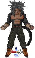 Mike SSJ4 for Gamerxboy by Dairon11