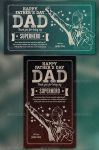 Superhero Dad - Fathers Day Greeting Card by Junaedy-Ponda