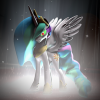 Dark Magic Celestia [SFM] by argodaemon