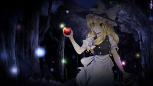 Marisa stole the precious apple by TakuyaRawr