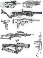 MORE guns_first drafts by OutFoxedTW