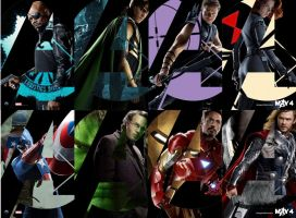 Avengers Wallpaper by MadHatter250