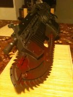 Gears of War Lancer by Tahirbrown
