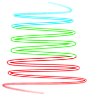 Multi Colored Swirl PNG by SugarPaula