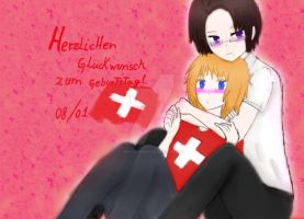 APH:HAPPY BIRTHDAY SWITZERLAND by DieSchweizer