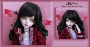 Vampire going pink by lauritad