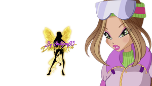 World of Winx Flora Winter Style - PNG by Gallifrey93