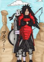 Madara and the Misterious man by Slamki
