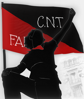 Spanish Civil War: CNT-FAI by Sowizo