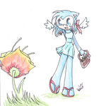 :comm: a special flower.1 by kittykoolkatz