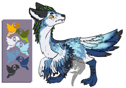 redesign Dino-wolf [AT] by ll-Silver-ll