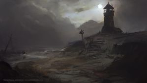 Abandoned Lighthouse by Kalberoos
