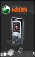 Sony Ericsson k800i icon by gam3ov3r