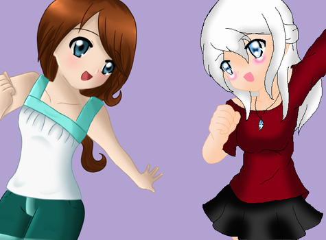 Collab with Toki by Rodgier-XD