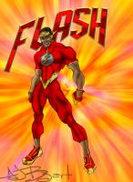 Redesigned The Flash from Jamaica by ajb3art