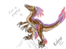 QuickRaptorSketch by Khelmer