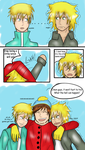 Creek Doujinshi: Too Much Pressure Pg. 13 by KevinAF123