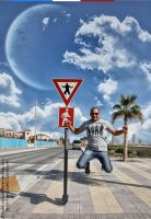 The Jumping Outlaw by batikha