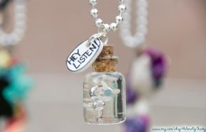 Hey Listen! Navi Bottle Necklace by IvrinielsArtNCosplay