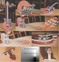 Papercraft Red Special by ThanhDDanh