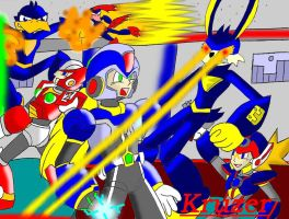 Maverick Hunters Vs. Loonatics by Kruzer